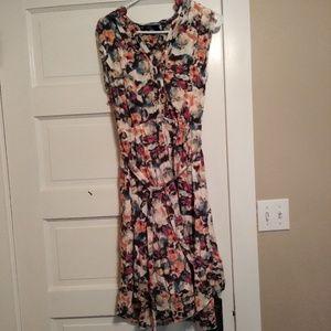 Multi colored Simply Vera Vera Wang maxi dress